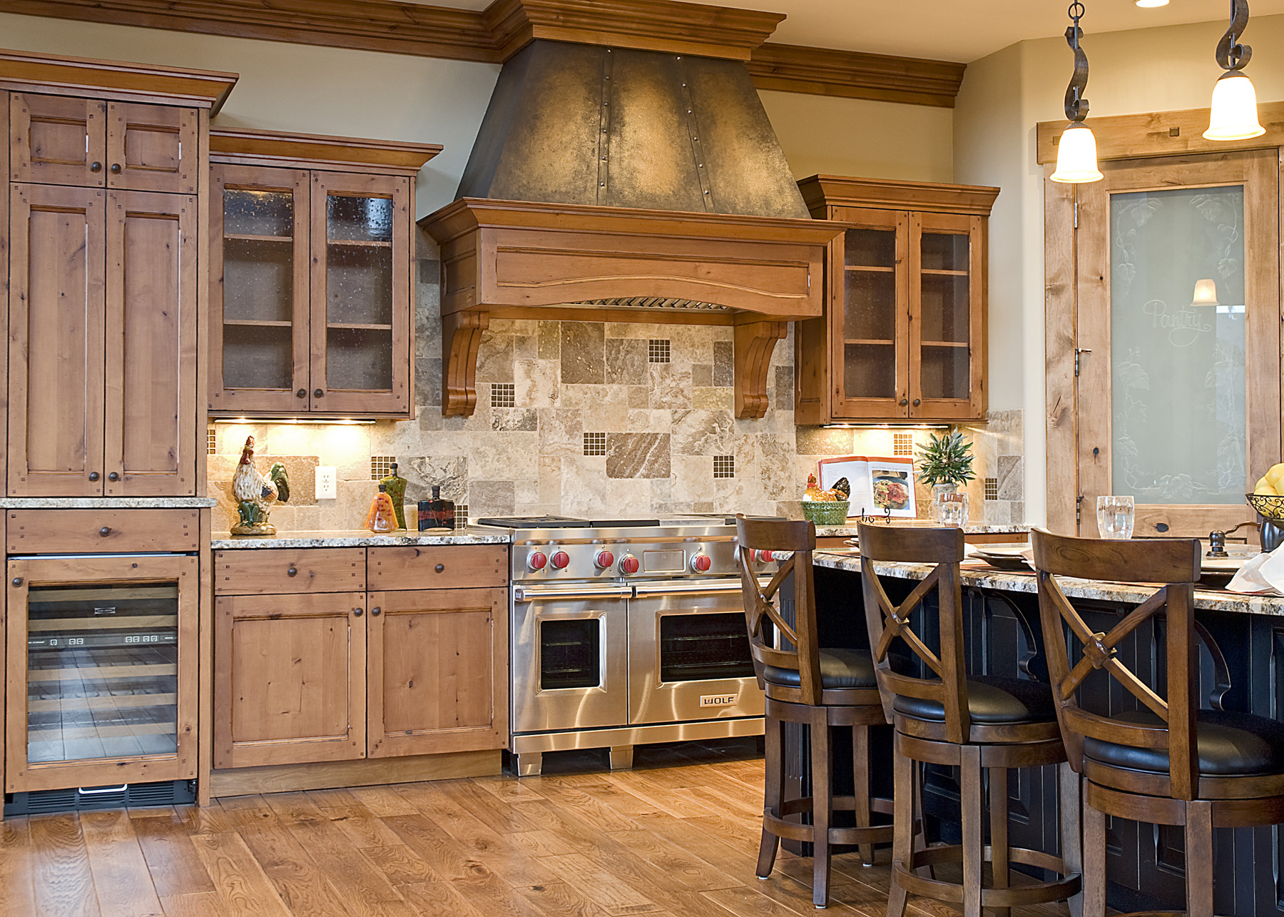 Cameo homes kitchens park city utah a cameo life for Builders kitchen