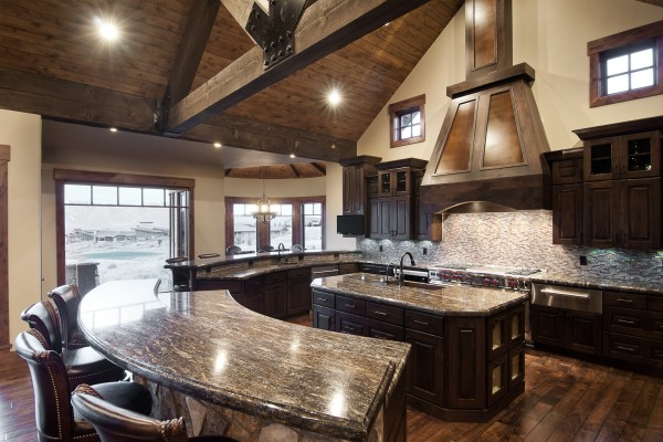 Curved Counter Tops