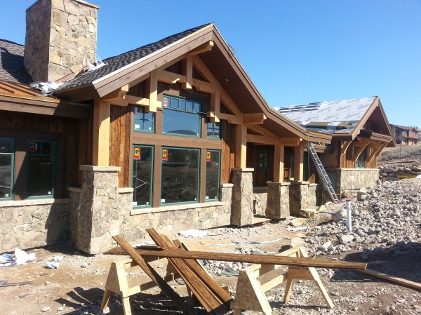 Built by Cameo Homes Inc. in Promontory, Park City, Utah