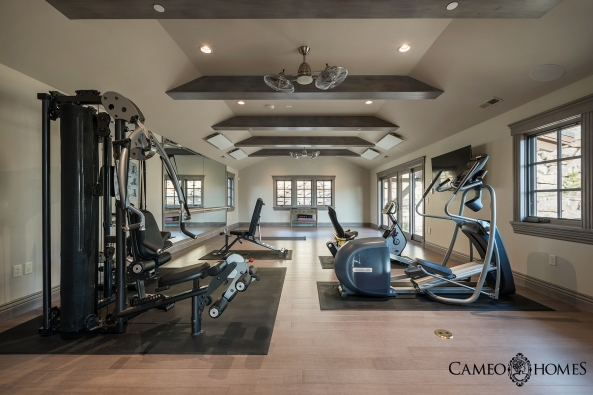 Home Gym and Yoga Studio